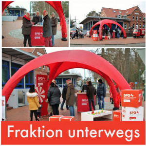 Fraktion unterwegs in Sandkrug