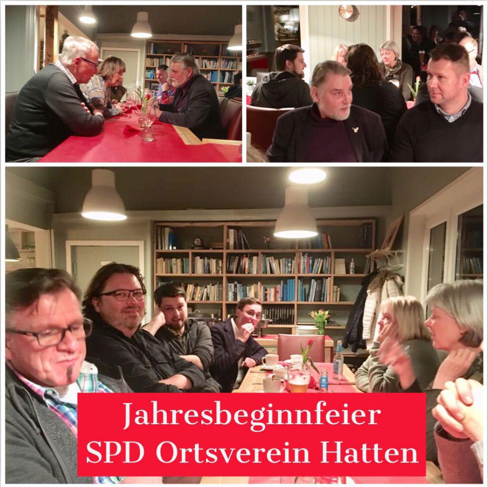11.01.2019 Jahresbeginnfeier beim SPD Ortsverein Hatten
